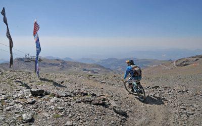 Downhill Cykling i Sierra Nevada